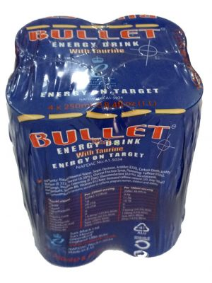 Bullet Energy Drink - 250ml x4