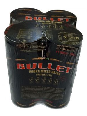 Bullet Vodka Mixed Drink - 250ml x4