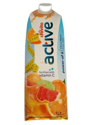 Chivita Active Citrus Mixed Fruit Juice - 1lt