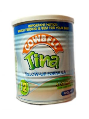 Cowbell Tina Follow Up Formula 2 6-12 Months - 400g