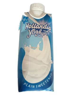Hollandia Yoghurt Drink Plain Sweetened - 315ml