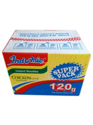 Indomie Instant Noodles Chicken Flavour Super Pack - 120g x40