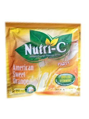 Nutri C Instant Orange Flavoured Drink - 8.25g