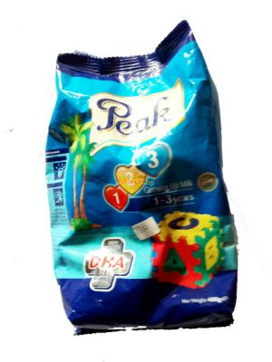Peak 123 Growing-up Milk Powder 1-3 Years Satchet - 400g