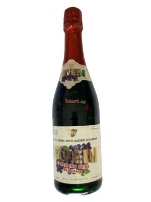 Pure Heaven Sparkling Red Grape Drink - 750ml