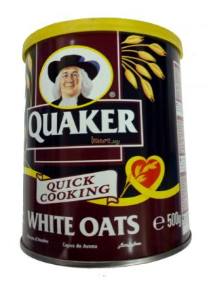 Quaker Quick Cooking White Oats - 500g