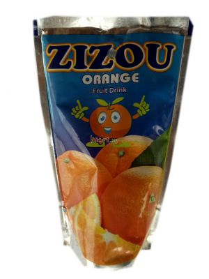 Zizou Orange Fruit Drink - 200ml