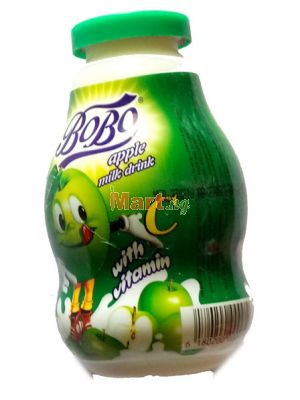 Bobo Apple Milk Drink - 18cl