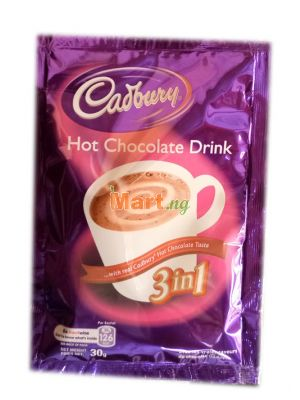 Cadburry Hot Chocolate Drink - 30g