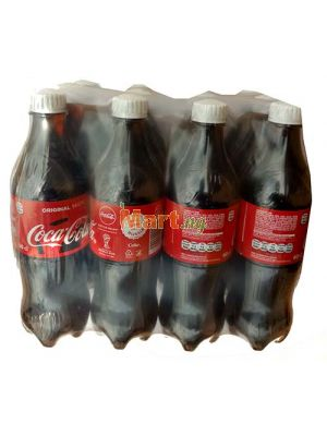Coca Cola Plastic Bottle - 60cl x12