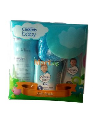 Cussons Baby Gift Pack (Soap, Sponge, Jelly, Oil, Powder)