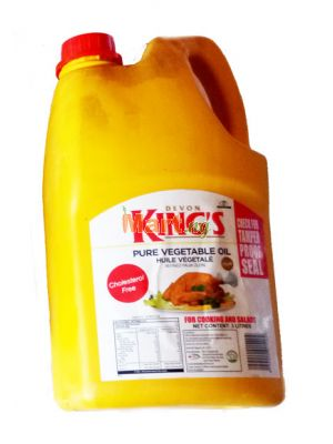 Devon King's Pure Vegetable Oil - 3lt