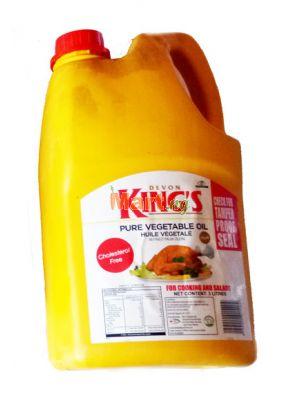Devon King's Pure Vegetable Oil - 3lt