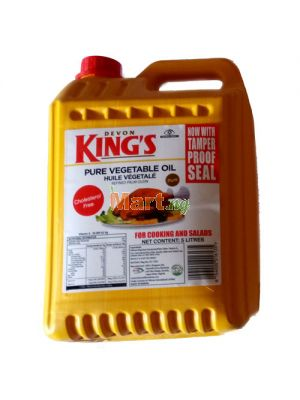 Devon King's Pure Vegetable Oil - 5lt