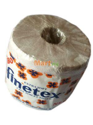 Jumbo Extra Soft Finetex 2 Ply Toilet Tissue - 1 Roll