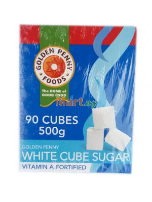 Golden Penny White Sugar Cubes Vitamin A Fortified - 500g