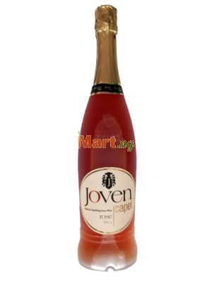 Joven Capel Medium Sparkling Rose Wine - 750ml