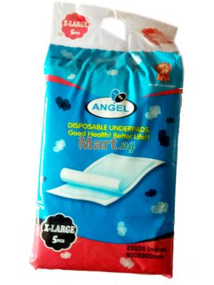Little Angel Disposable Underpads X-Large - 5 Pieces