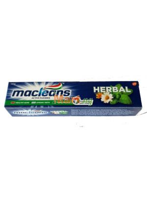 Macleans Active Flouride Herbal Toothpaste - 140g