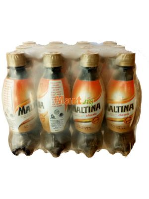 Maltina Plastic Bottle - 33cl x12