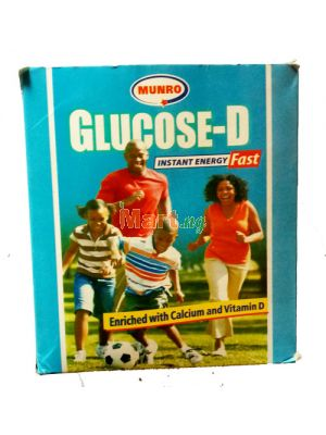 Munro Glucose-D Instant Energy Fast - 50g 10 Pieces