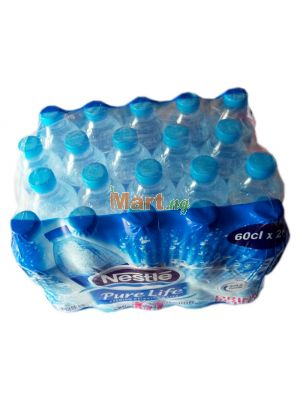 Nestle Pure Life Premium Table Water - 60cl x20