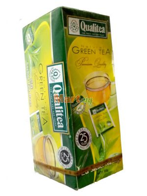 Qualitea Natural Green Tea - 50g 25 Pieces