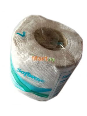 Softwave Jumbo Soft White Tissue 2 Ply - 1 Piece