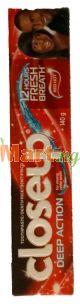 Closeup Toothpaste Deep Action 140g